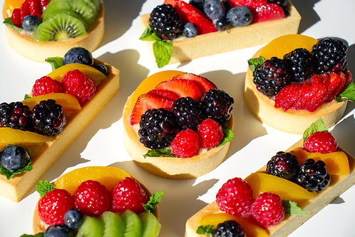 J's Signature Fruit Tart