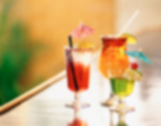 Enjoy one of our tastefull cocktails at Hornbill Lodge