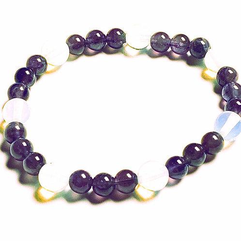 Amethyst and Opal Bracelet