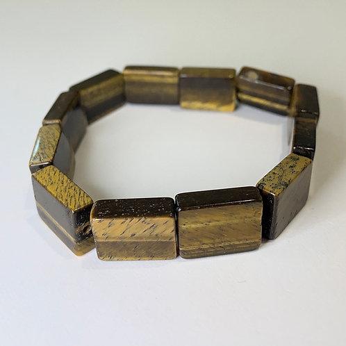 Rectangle Tiger's Eye bracelet