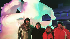 Snow carving at Breckenridge