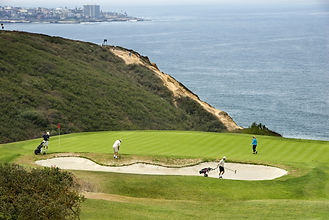 Torrey Pines Golf course in La Jolla, Ca