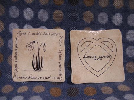 Original ceramic coasters with a message!