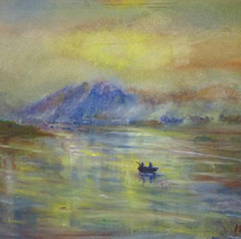 Llyn Padarn at Sunset