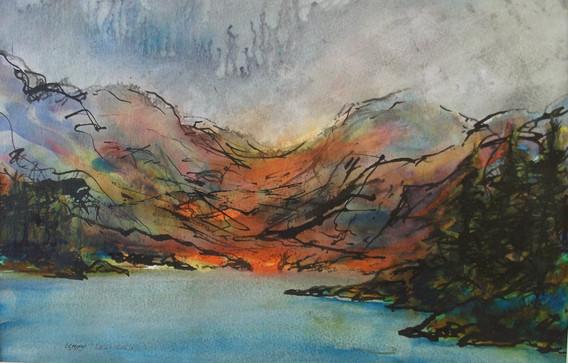Heavy Weather Loch Katrine