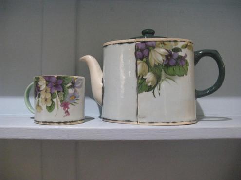 Virginia Graham teapot and cup