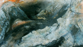 New mixed media work  by Peter Moore in the gallery - and coming to our website soon.