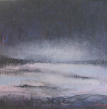 Mist in Grey and Blue