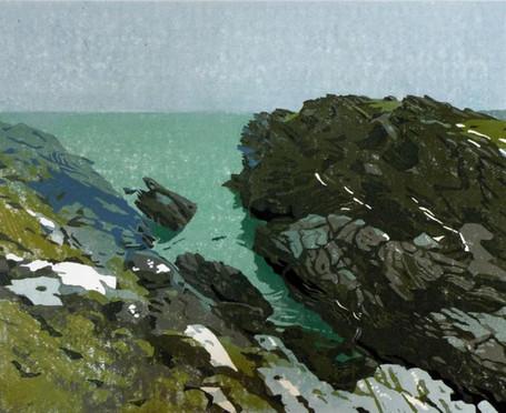 Early Morning, Porth Dafarch Cliffs