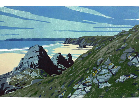 New Linocuts by Ann Lewis!