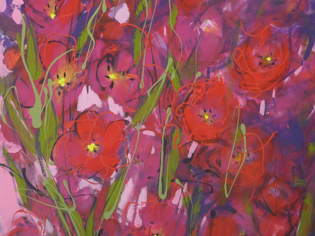 Bobl Bach! Exquisite new paintings by Penelope Timmis as well as ......
