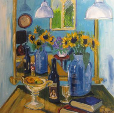 Mirrored Sunflowers