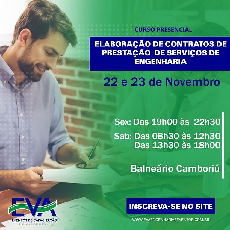 ELABORAÇÃO DE CONTRATOS DE PRESTAÇÃO DE SERVIÇOS DE ENGENHARIA