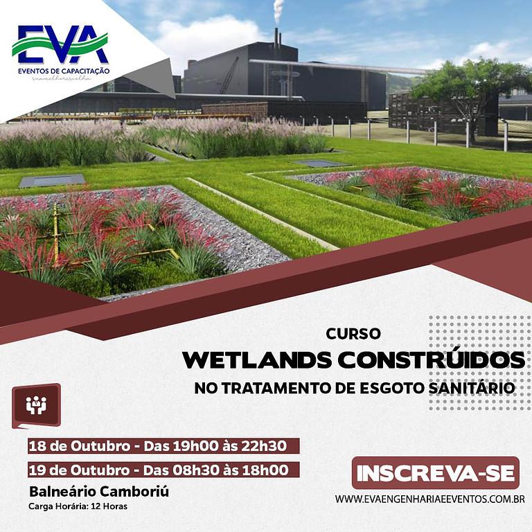 WETLANDS CONSTRUÍDOS NO TRATAMENTO DE ESGOTO SANITÁRIO