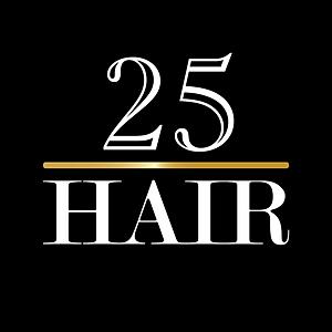 25 Hair Logo