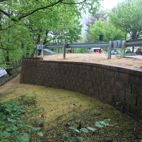 Bryn Mawr College: Retaining Wall Reconstruction