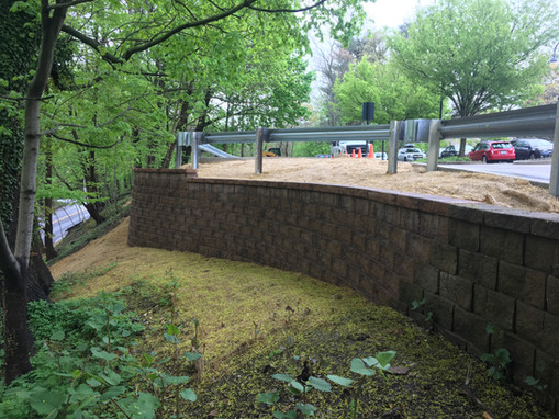 Bryn Mawr College: Retaining Wall Reconstruction