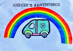 GeeGee Rainbow by Angela & Jonathan
