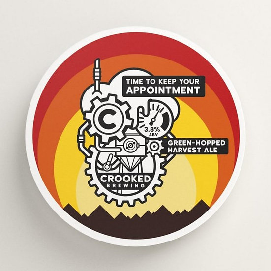 Crooked Brewing - Time to Keep Your Appointment 3.8%