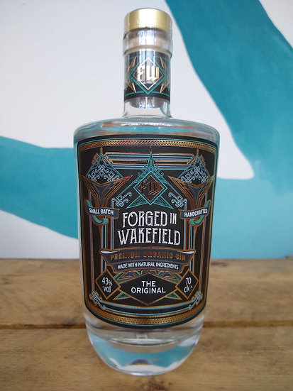 Forged in Wakefield Gin - 70cl