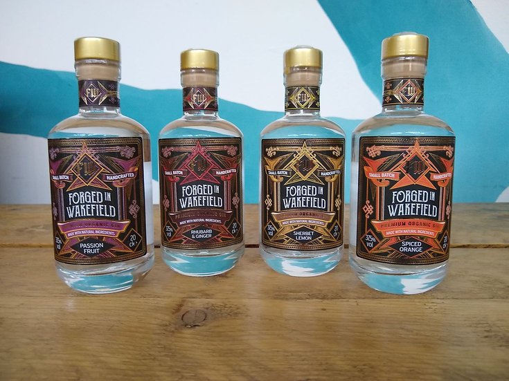 Forged in Wakefield Gin - 20cl