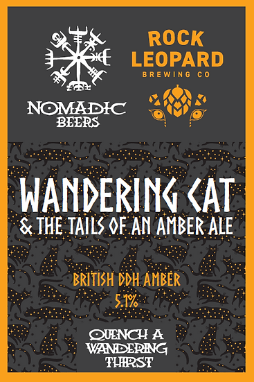Wandering Cat & the Tails of an Amber Ale 5.1%