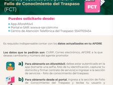 ¿Cómo generar el Folio de Conocimiento de Traspaso? (FCT)