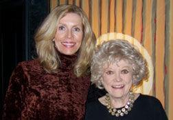 Karlynn Keyes with Phyllis Diller
