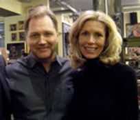 Karlynn Keyes with Steve Wariner