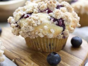 Arizona Blue Corn Blueberry Muffins