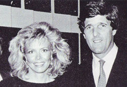 Karlynn Keyes with John Kerry