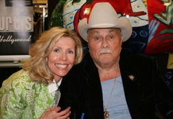 Karlynn Keyes with Tony Curtis