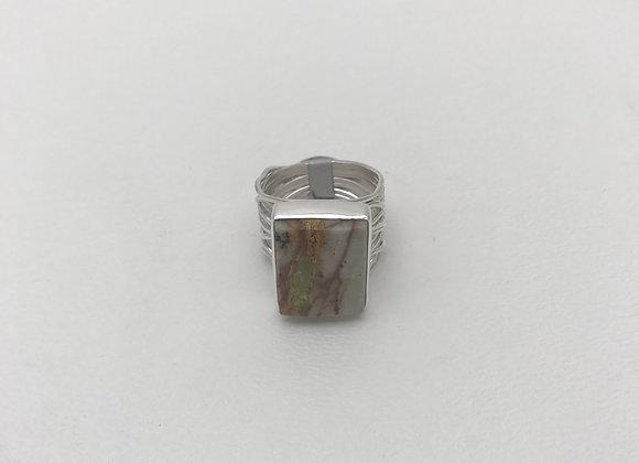 Navajo Bolder Turquoise Ring