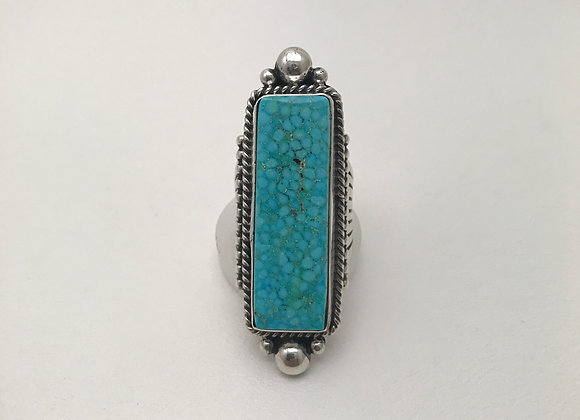Kingman Birdseye Turquoise Ring