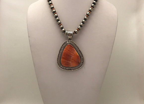 Navajo Pearls with Pendant