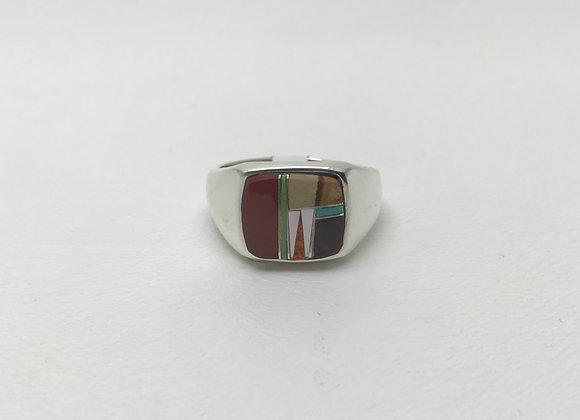 Navajo Multi-Stone Inlay Ring
