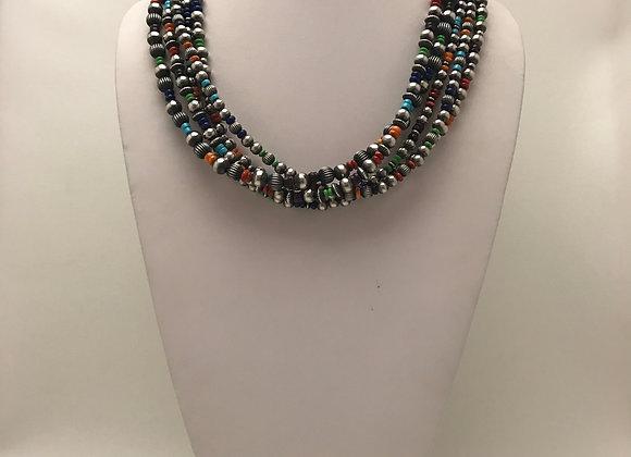 5 Strand Navajo Pearls