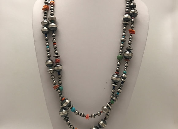 Multi Colored Navajo Pearls
