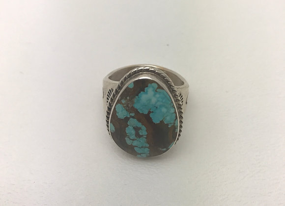 Navajo Blue Diamond Ring