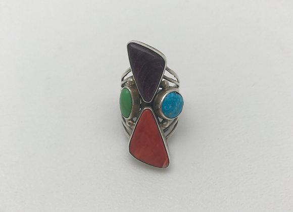 Navajo Multi-Stone Ring