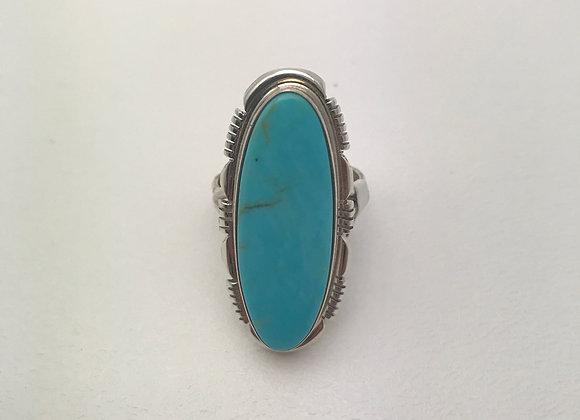 Navajo Kingman Turquoise Ring
