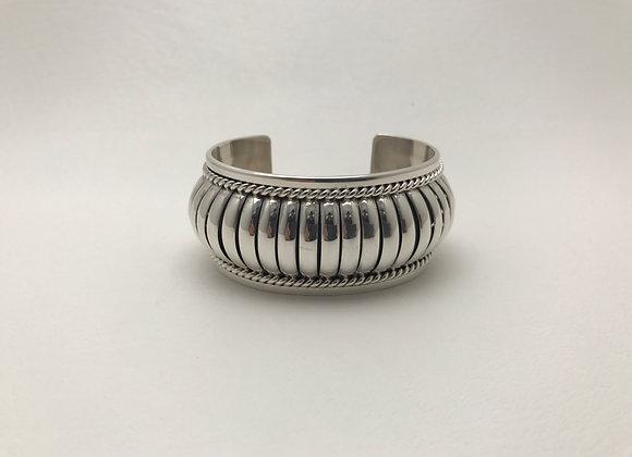Sterling Silver Cuff Bracelet Med