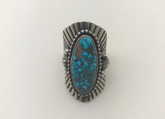 Navajo Birdseye Ring
