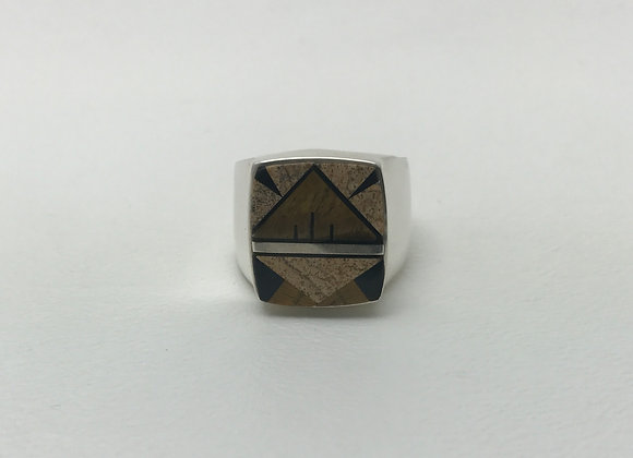 Navajo Multi-Stone Inlay Ring