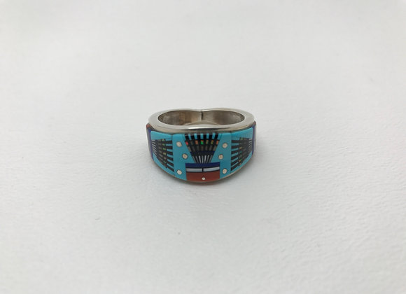 Navajo Multi-Stone Ring