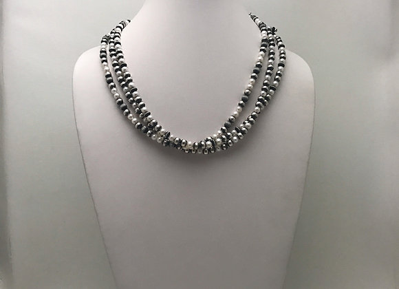 3 Strand Mother of Pearl set