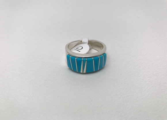 Navajo Turquoise Inlay Ring