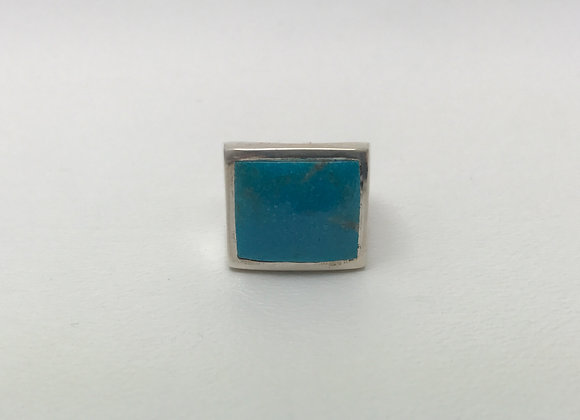 Kingman Turquoise Inlay Ring