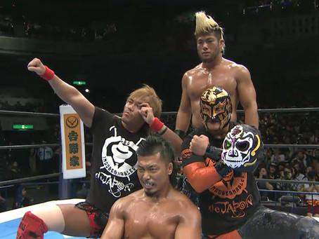 New member of Los Ingobernables makes his NJPW Debut