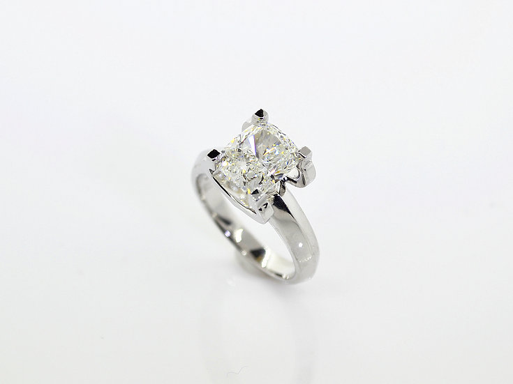 D-Solitaire Ring